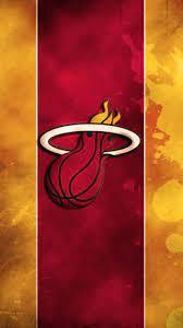 Miami Heat Logo iPhone Wallpaper Home ...
