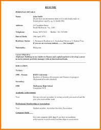 Objective For Resume For Bank Job Bank Teller Resume Objective Good Resume Format