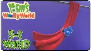 yoshi s woolly world 100 walkthrough world 5 s yoshi s curtain call you