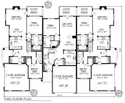 4 Plex House Plans Canada  Homes ZoneQuadplex Plans