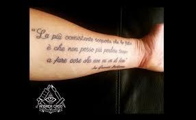 Tatuaggio Lettering A Roma Presso Il Baby Skull Andrea Caso Tattooing
