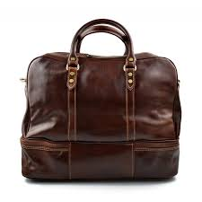 duffle bag mens leather