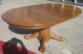 table lovely claw foot pedestal dining table 8 astounding room plan and also antique round oak