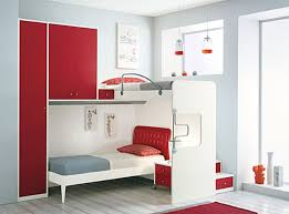 small bedroom furniture arrangement ideas. Bedroom. Small Bedroom Arrangement Ideas Presenting Red And White Wooden Bunk Bed On Furniture S