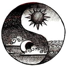 Image result for sun and moon yin yang