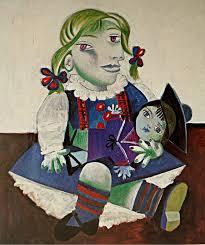 """Maya con la bambola"""" di Picasso: analisi"""