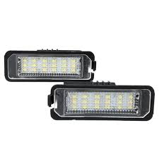 Lupo Lights Australia 2019 Qualauto Led License Plate Light For Vw Golf 4 5 Passat 3c Limo Lupo Polo 9n Universal Cable Auto Signal Lamp Car Light From Qualshop 18 1