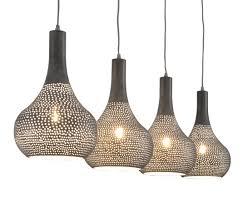 Hanglamp Cone 4 Lampenkappen Grijs