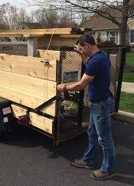 upgrading a stripped down utility trailer to move mulch and tow your tools by