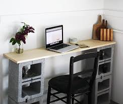 cinder block furniture. DIY Cinder Block Table By The Merrythought Furniture A