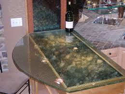 curved glass tabletop