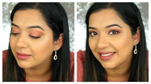 party grwm peachy makeup look get ready with me beautylashes19