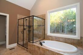 custom master bathrooms. Unique Custom An Over Sized Tile Shower And Soaking Tub Offer Ample Space To Relax In  This Custom To Custom Master Bathrooms