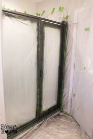 door frame painting ideas. Simple Ideas How NOT To Paint A Shower Door And Fix Spray Mistakes Throughout Frame Painting Ideas W
