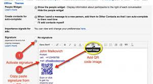 How To Add Qr Code Signature To Gmail Tutorial