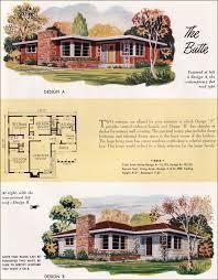 mid century house plans. Delighful Century 1952 Nationa Plan Service  Butte In Mid Century House Plans S