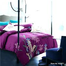 purple silk sheet luxury embroidered white purple bedding sets gray blue red bed linen flower erfly duvet cover purple lab silk sheets luxe foundation