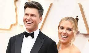 Scarlett Johansson's husband Colin Jost ...