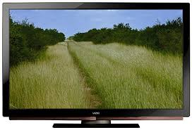 vizio tv 2008. this almost four inch deep plasma tv is hands full - and two strong backs because it weighs 96 pounds with its non-swivel stand. vizio tv 2008 e