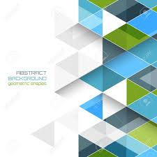 Geometric Shapes For Design Abstract Vector Background With Geometric Shapes Design With