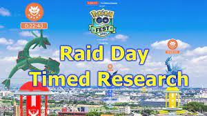 Pokémon GO Fest 2021 Raid Day Timed ...