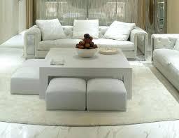 ottoman coffee table. Round Fabric Ottoman Coffee Table Large Gray Storage Pouf Custom G