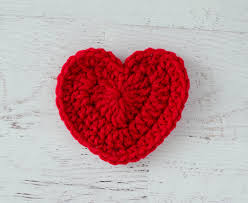 Heart Crochet Pattern Extraordinary Crochet Heart Pattern Crochet 48 Knit Too