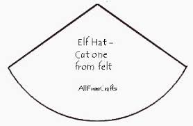 Elf Hat Pattern Simple Homemade Pine Cone Elves