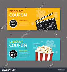 coupon design stock vector movie coupon flat design 324410894 jpg 1500 x 1600