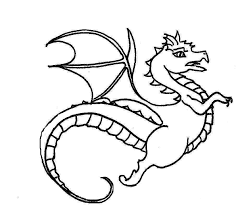 Small Picture Dragon Coloring Pages For Toddlers Coloring Coloring Pages