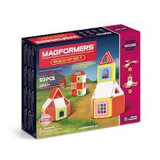 Магнитный <b>конструктор MAGFORMERS Build</b> Up Set [705003]