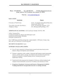 Sample Pilot Resume Summary Sample Membership Information Airline