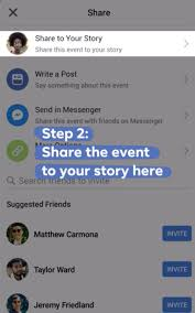 Facebook adds the option to share events to Stories, message friends ...