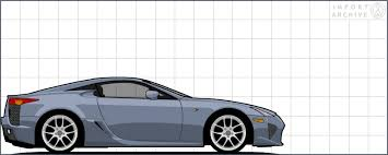 2012 Lexus Color Chart Importarchive Lexus Lfa 2012 Touchup Paint Codes And Color
