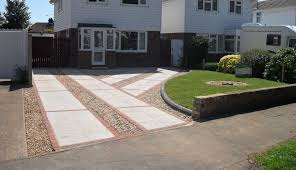 front garden ideas with driveway home
