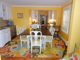 Bright Colored Kitchen Rugs Dining After Bright Coastal Wet Bar Buffet Glass Tile Companyc Rug