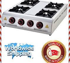 commercial kitchen equipment heavy duty rangetop 4 burner cooktop propane gas countertop multipurpose hot plate range stove cast iron hotplate cooker