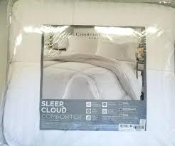 cloud comforter charter club sleep full queen down alternative white hallmark
