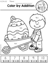 295f1c6ff2a08f8502da71e278c2c23e easter worksheets kindergarten math worksheets 25 best ideas about kindergarten math worksheets on pinterest on kindergarten math facts worksheets