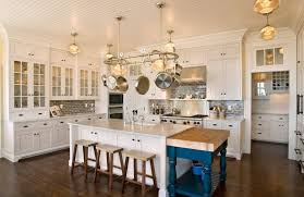 colorful kitchen island extension home decorating trends