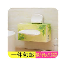 napkin holder paste the vertical paper