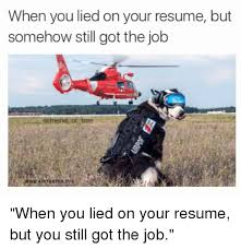 awesome i lied on my resume and got the job photos simple resume