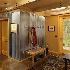 12 Great Sheet Metal Home Decor Ideas | Corrugated metal, Metal walls and  Metals