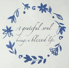 Blessed Life Quotes Stunning Ana Rosa A Grateful Soul Brings A Blessed Life Quote Ana Rosa