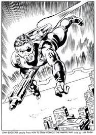 i made a time lapse video of my inking process over a nick fury drawing by john buscema from how to draw ics the marvel way