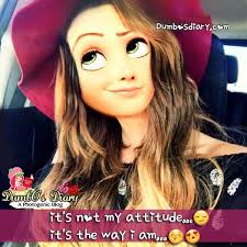Girls Attitude Pic With