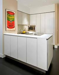 Modern Luxury Rental Apartment Open Kitchen Interior Design - Kitchen designers nyc