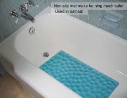Amazon.com: Non-slip Bathtub Mat OTHWAY Soft Rubber Bathroom ...