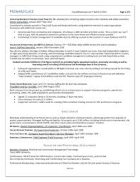Oil And Gas Resume Template Sugarflesh