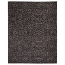 DYNT rug, low pile, gray Length: 9 ' 10